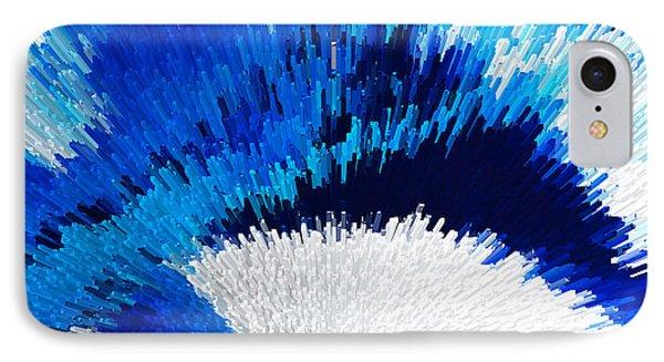 Color Shock 2 - Vibrant Digital Painting Art Phone Case by Sharon Cummings