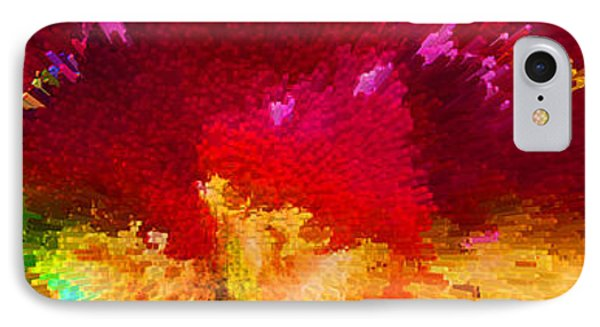 Color Shock 4 - Vibrant Digital Painting IPhone Case