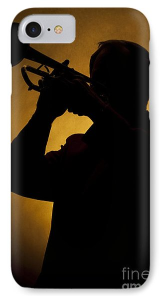 Color Silhouette Of Trumpet Player 3019.02 IPhone Case