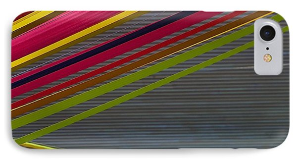IPhone Case featuring the photograph Color Strips by Stuart Litoff