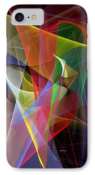 IPhone Case featuring the digital art Color Symphony by Rafael Salazar