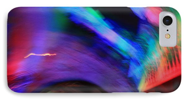 Color Tunnel  IPhone Case by Chris Thomas