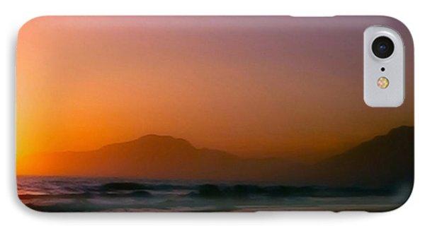Color Wash Sunset  Phone Case by Debra     Vatalaro