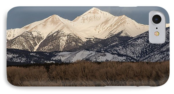 Colorado 14er Mt. Yale IPhone Case by Aaron Spong