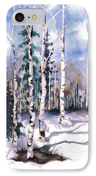 Colorado Aspens 2  Phone Case by Barbara Jewell