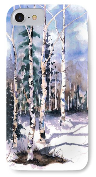 Colorado Aspens 2  IPhone Case by Barbara Jewell