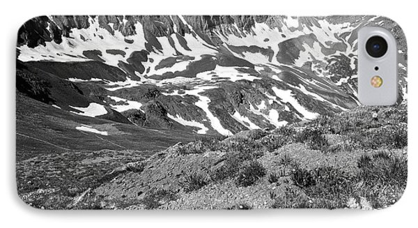 Colorado Black And White Phone Case by Aaron Spong