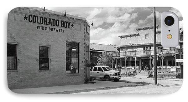 Colorado Boy IPhone Case by Eric Glaser
