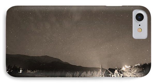 Colorado Chapel On The Rock Dreamy Night Sepia Sky IPhone Case by James BO  Insogna