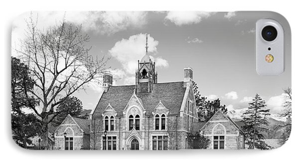 Colorado College Cutler Hall Side View IPhone Case by University Icons