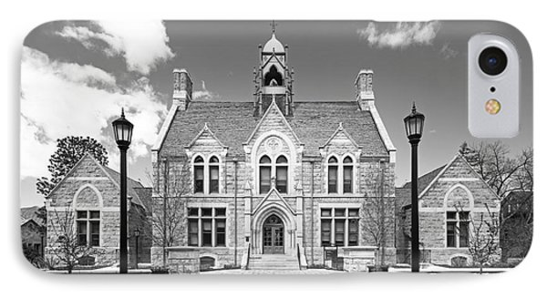 Colorado College Cutler Hall IPhone Case by University Icons