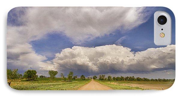 Colorado Country Road Stormin Skies Phone Case by James BO  Insogna