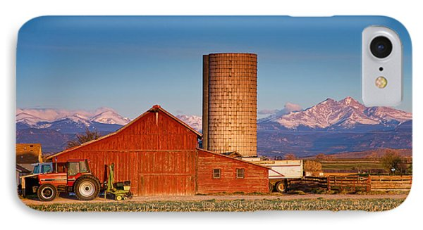 Colorado Farming IPhone Case by James BO  Insogna