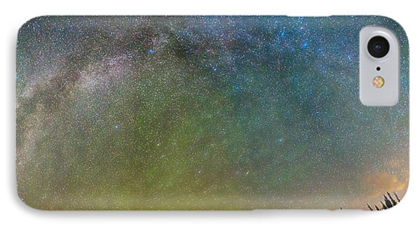 Colorado Indian Peaks Milky Way Panorama IPhone Case by James BO  Insogna