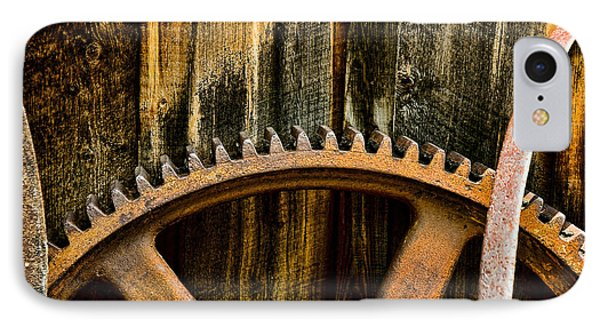 IPhone Case featuring the photograph Colorado Mining Gear by Catherine Fenner