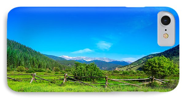 Colorado Mountains IPhone Case by Mark Andrew Thomas