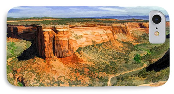 Colorado National Monument Ute Canyon Panorama IPhone Case by Christopher Arndt