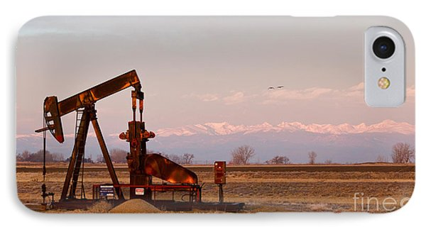 Colorado Oil Well Panorama Phone Case by James BO  Insogna