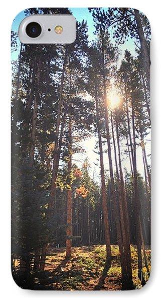 Colorado Pines Phone Case by Garren Zanker