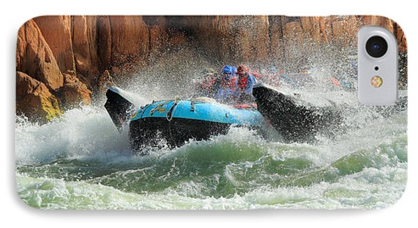 Colorado River Rafters IPhone Case by Inge Johnsson
