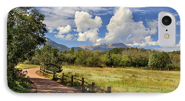 IPhone Case featuring the photograph Colorado Scenic Pathway by Cheryl Davis