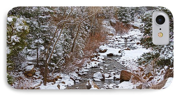 Colorado St Vrian Winter Scenic Landscape View Phone Case by James BO  Insogna