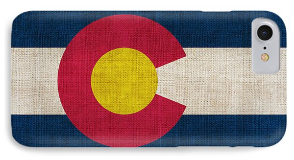 Colorado State Flag IPhone Case by Pixel Chimp