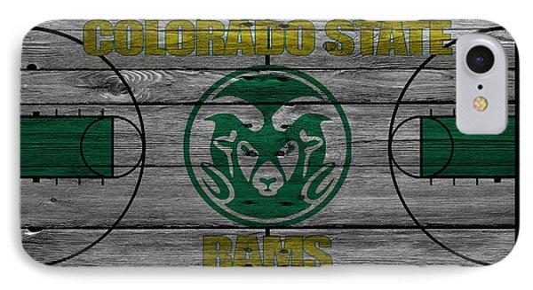 Colorado State Rams IPhone Case by Joe Hamilton