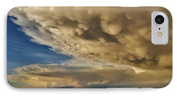 IPhone Case featuring the photograph Colorado Supercells by Ed Sweeney