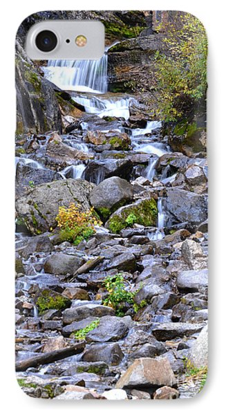 Colorado Waterfall Mountain Stream IPhone Case by Andrea Hazel Ihlefeld