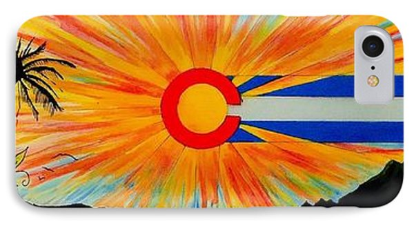 Colorado Wherever You Are Its Always Home IPhone Case by Randy Segura
