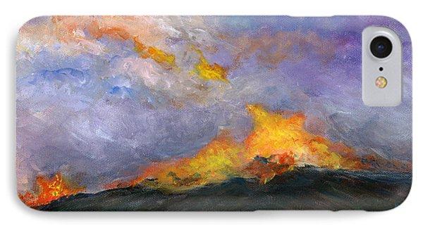 Colorado Wild Fire IPhone Case