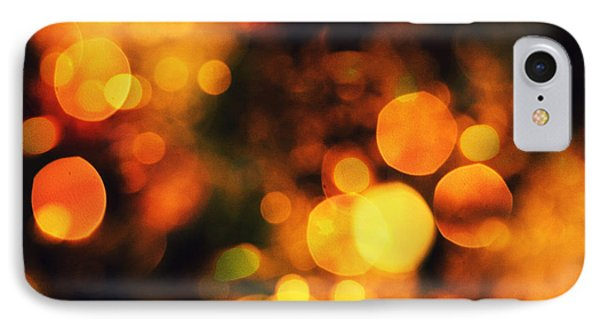 IPhone Case featuring the digital art Coloured Bokeh Lights by Fine Art By Andrew David