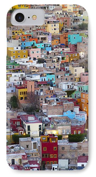 Colored Homes Phone Case by Douglas J Fisher