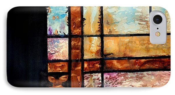 Colored Impressions Phone Case by Spencer Meagher