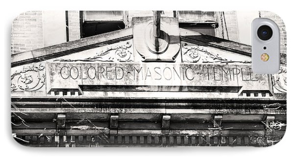 IPhone Case featuring the photograph Colored Masonic Temple by Davina Washington