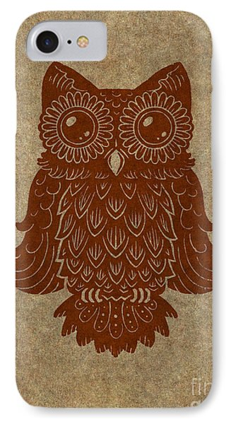 Colored Owl 2 Of 4  IPhone Case by Kyle Wood