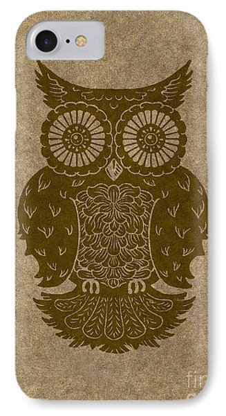 Colored Owl 3 Of 4  IPhone Case by Kyle Wood