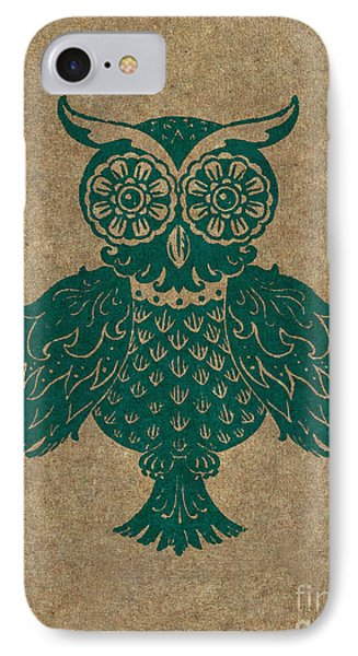 Colored Owl 4 Of 4  IPhone Case by Kyle Wood