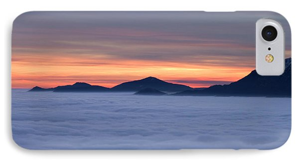 Colored Sunset Phone Case by Maurizio Bacciarini