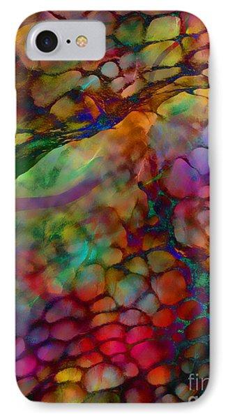 Colored Tafoni Phone Case by Klara Acel
