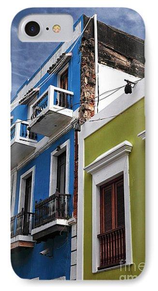 Colores Del Edificio Phone Case by John Rizzuto