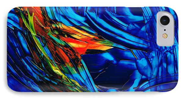 Colorful Abstract Art - Energy Flow 1 - By Sharon Cummings IPhone Case by Sharon Cummings