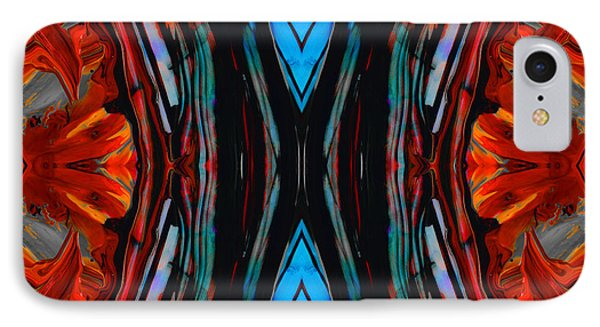 Colorful Abstract Art - Expanding Energy - By Sharon Cummings IPhone Case