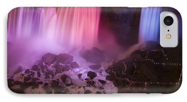 Colorful American Falls Phone Case by Adam Romanowicz