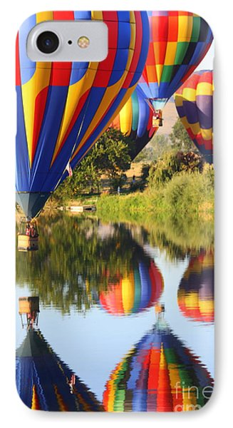 Colorful Balloons Fill The Frame Phone Case by Carol Groenen