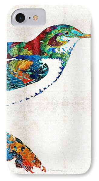 Colorful Bird Art - Sweet Song - By Sharon Cummings IPhone 7 Case
