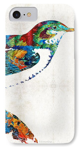Colorful Bird Art - Sweet Song - By Sharon Cummings IPhone 7 Case by Sharon Cummings