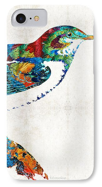 Colorful Bird Art - Sweet Song - By Sharon Cummings IPhone Case by Sharon Cummings