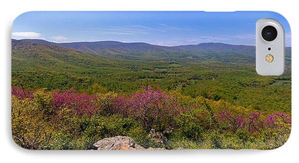 Colorful Blue Ridge Spring IPhone Case by Rachel Cohen